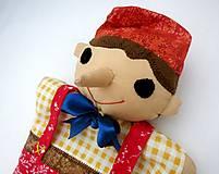 Hračky - Pinocchio - sada maňušiek na ruku - 12889743_