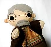 Hračky - Pinocchio - sada maňušiek na ruku - 12889748_
