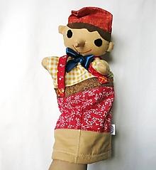 Hračky - Maňuška Pinocchio - 12887269_