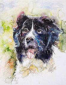 Obrazy - Akvarelový obraz na želanie - 12887639_