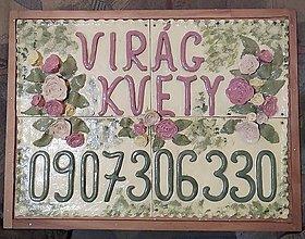 Tabuľky - Keramický obraz - 12885908_