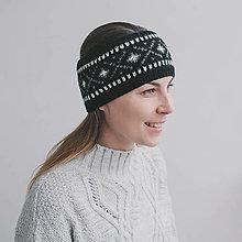 Čiapky - čelenka s nórskym vzorom - 12888314_