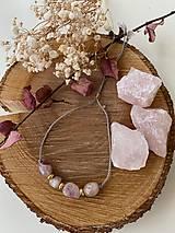 Náramky - Šedý náramek s turmalínem - 12885555_