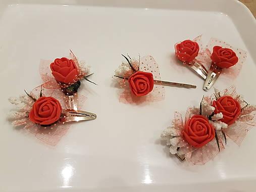 Red rose sponka/pukačka