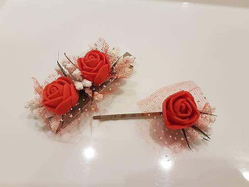 Red rose - sponka