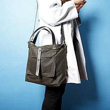 Veľké tašky - Unisex taška PLAY GREEN - 12885989_