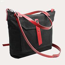 Veľké tašky - Dámská taška PLAY BLACK 3 - 12886113_