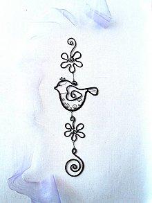 Dekorácie - Tepaná dekorácia *27 cm - 12887713_