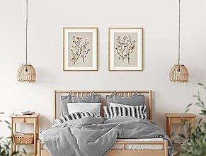 Grafika - SPARROW ON COTTON PLANT 2 - 12886600_