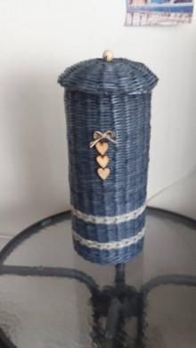 Košíky - Zásobník na toaletný papier na 4 kusy - 12888801_