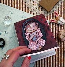 Papiernictvo - Farbičky v sáčku, skicár v ruke!/ originál skicárik- zápisník - 12892065_