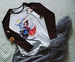 Tričká - Sekáčové dievča/ typ Sol´S - 12893430_