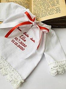 Detské oblečenie - Krstová košieľka 2 - 12894111_