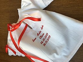 Detské oblečenie - Krstná košieľka 1 - 12894131_