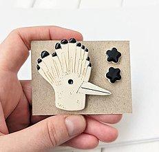 Sady šperkov - Keramický set (Dudok na konári) - 12894269_