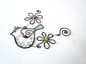 Dekorácie - Tepaná dekorácia - 12890171_