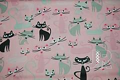 Textil - mačičky - 12892046_