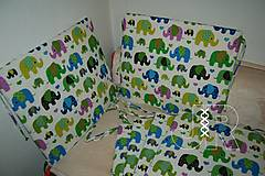 Úžitkový textil - podsedák sloník - 12893566_