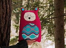 Úžitkový textil - vankúš: m a c o - vlnky - 12895684_