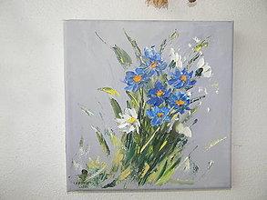Obrazy - Malá kytička - 12895625_