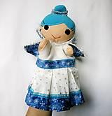 Hračky - Ľadová kráľovná - sada maňušiek na ruku - 12897828_