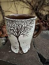 "Nádoby - Hrnček ""Zimný strom"" - 12894854_"