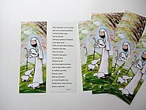 Papiernictvo - záložka Dobrý pastier - 12898601_
