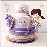 """Detské doplnky - Plienková torta """"LILLY"""" - 12896096_"""