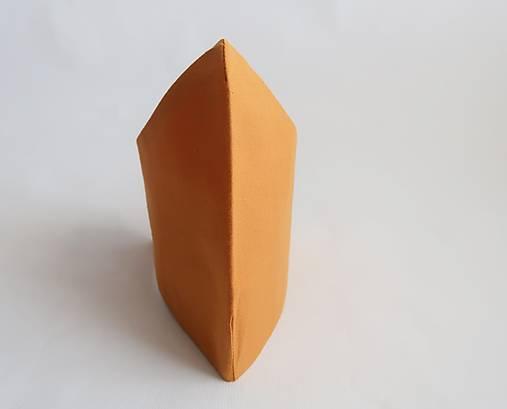Dvojvrstvové tvarované rúško