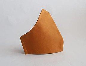 Rúška - Dvojvrstvové tvarované rúško - 12895187_
