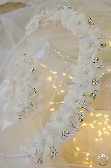 Ozdoby do vlasov - Svadobný venček - 12895539_