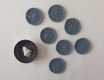 Úžitkový textil - Odličováky - háčkované (sada 7 ks) - 12897331_