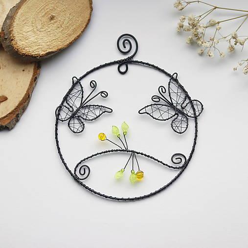 Dekorácie - dekorácia s motýlikmi - 12899976_