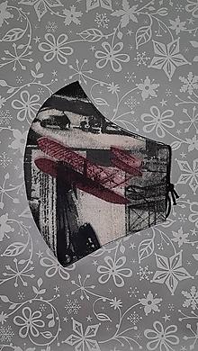 Rúška - Pánske rúško Lietadlá s antibakteriálnou bavlnou - 12899722_