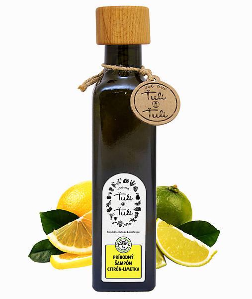 Drogéria - Prírodný šampón Citrón - Limetka - 12899944_