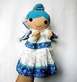 Hračky - Maňuška Ľadová kráľovná - 12901679_