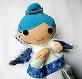 Hračky - Maňuška Ľadová kráľovná - 12901680_