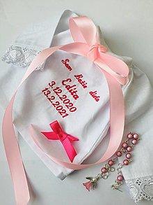 Detské oblečenie - Krstová košieľka 5 - 12900663_