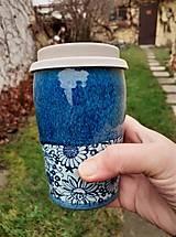 Nádoby - Cestovný pohár na veľkú kávu, čaj, džús... - 12903331_