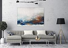 Obrazy - Oceán, 140x100, abstraktný obraz, abstraktné obrazy - 12900083_