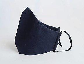 Rúška - Dvojvrstvové tvarované rúško - 12901824_