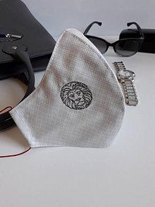 Rúška - Bavlnené rúško dvojvrstvové Deluxe Znamenia - 12901178_