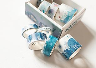 """Papier - Washi Set """"ocean whale"""" - 12902127_"""