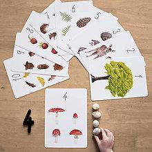 Hračky - Číselné karty s vrecúškom - 12899823_