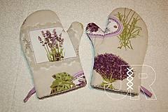 Úžitkový textil - levanduľové - 12903287_