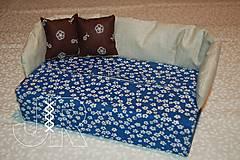Úžitkový textil - modrý - 12903448_