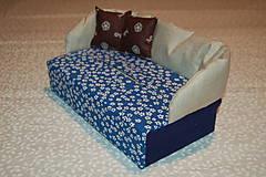 Úžitkový textil - modrý - 12903449_