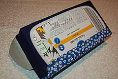 Úžitkový textil - modrý - 12903450_