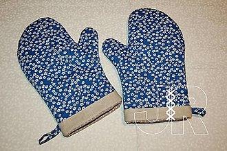 Úžitkový textil - modrá - 12903362_