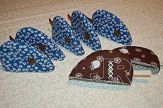 Úžitkový textil - myška chňapka - 12903458_